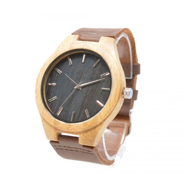 reloj de madera zui