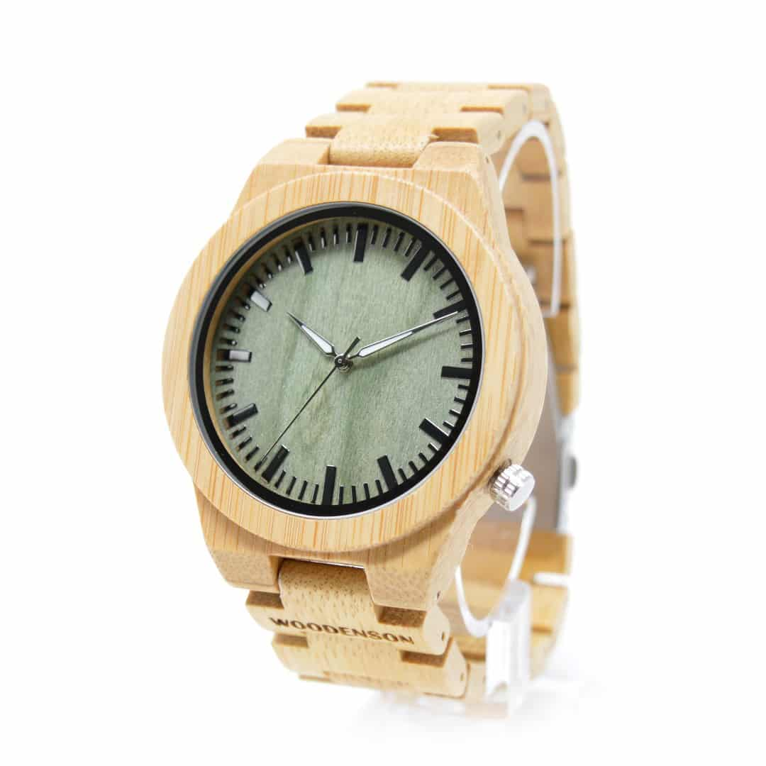 232cf1e5952f Reloj de madera de pulsera articulada Sasanoyo - Woodenson Chile